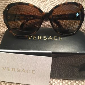 Versace ve4252 tortoise polarized sunglasses